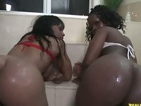 I give you Zena and Chanel. Two chicks that tore the whole scene down with their amazing big asses.