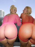 We got two juicy asses with these chick's named Valerie & Skyla Paris.