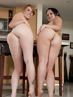 We got two juicy asses with these chick's named Veronica Von & Ivy Rider. These two have giant natural cans with huge asses