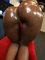 delicious round Aryana Starr ass