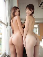 Fotos bootyful asian beauties with marvelous big asses, moist buttocks and big booty