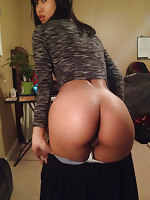 Pics bootyful asian beauties with pretty big asses, wet buttocks and fat arse