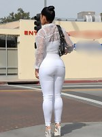 Latin big bubble ass of Monica